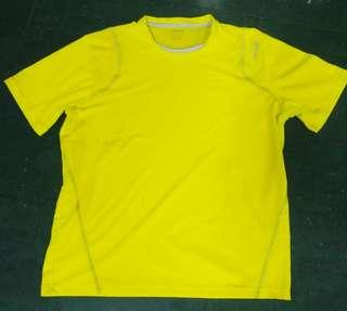 Reebok yellow running gym Jersey
