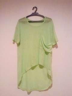Neon Oversized Shirt