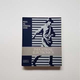 INDUSTRIAL ELECTRONICS (INTERNATIONAL EDITIONS)