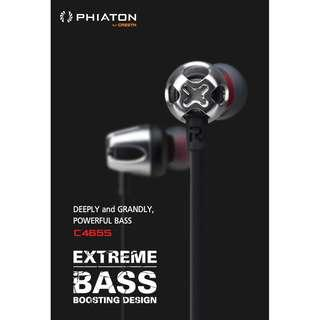 🚚 Phiaton C465S Extreme Bass with volume and mic control