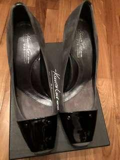 Kenneth Cole Grey Heels size 10