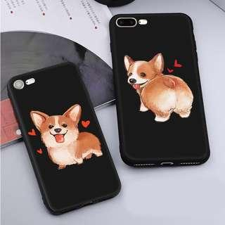 🌸PREORDER🌸 realistic corgi iphone casing