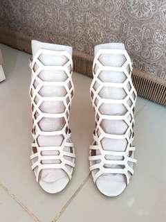 Lazer Cutout Sandal