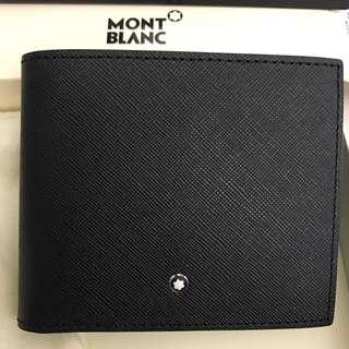 Mont Blanc Wallet 100% new, with box and dust bag (Mont Blanc 全新 銀包 有盒有塵袋)66折 100% authentic 真品