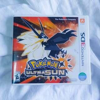 Pokemon Ultra Sun 3DS Game
