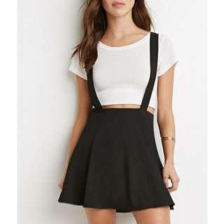 💓Black Suspender Skater Skirt💓