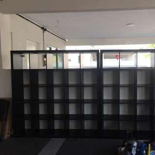 IKEA cabinet 5X5 holes