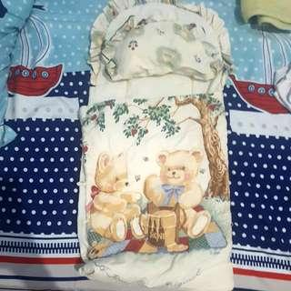 selimut baby newborn / alas bayi with pillow