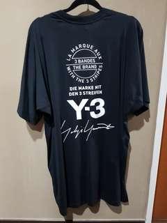 Y-3 assorted logo tee