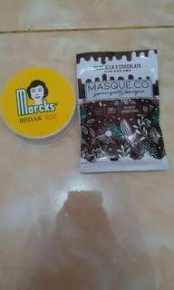 Marck's Powder dan Chocolate Milk Mask