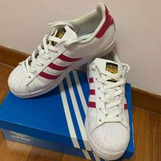 Adidas Superstar Hot Pink