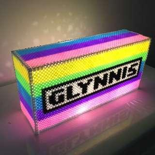 [Design A10] Personalised LightBox made with beads
