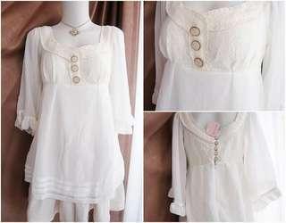 Lizlisa baju atasan putih