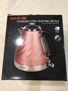 Brand new mag stainless electric kettle