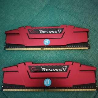 G.Skill RipJaws V DDR4 8GB(4x2) Ram