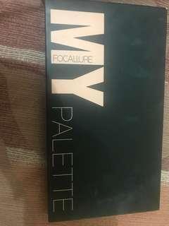 Preloved Focallure Face Pallete