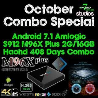 Android TV Box Combo Haohd