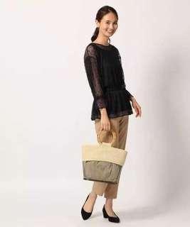 購自日本 全新 上衣 蕾絲 lace free size