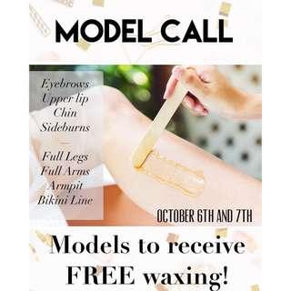 FREE WAXING - FACIAL - participants needed