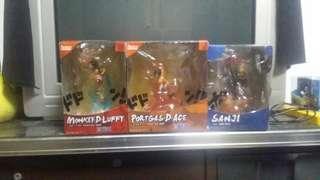 🚚 One piece 3box luffy ace sanji