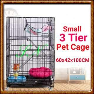 CAT CAGE 3 Tier Cage