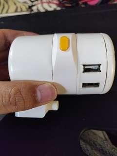 4port USB universal adapter
