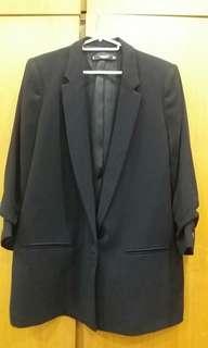 MNG Women Black Blazer