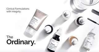 INSTOCKS The Ordinary Skincare