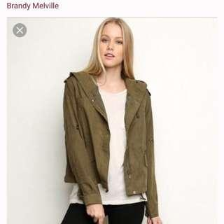 Brandy Melville green jacket