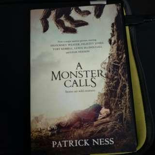 Pre - Loved A Monster Calls - A Novel (Movie Tie-in) by Patrick Ness [Paperback]