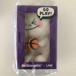 Line Moon Plush Toy Doll from McDonald's
