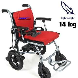 """iSMARTech Ultra-Lite """"A"""" Motorised Power Wheelchair"""
