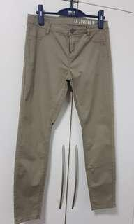 The Jegging Mid Rise : Slim Khaki Pants from Cotton On
