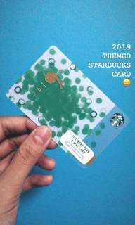 2019 Starbucks Card