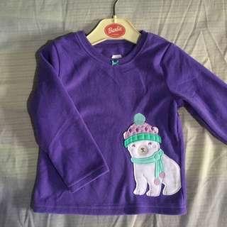Long Sleeve Polar Purple