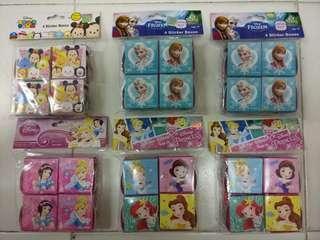 公主/TsumTsum/Frozen貼紙