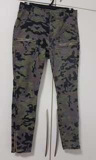 The Jegging Mid Rise : Slim Camouflage Pants from Cotton On