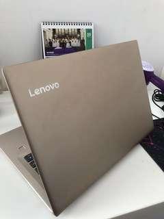 Lenovo IdeaPad 520s gold laptop