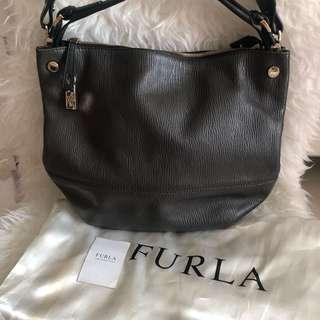 Authentic Furla Leather Bag