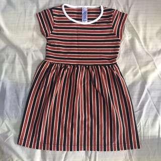 Popsicle Striped Dress
