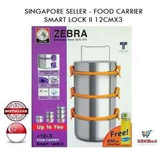 Zebra Food carrier 12x3