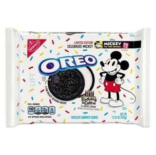 Mickey Birthday Cake Oreo (US limited edt)