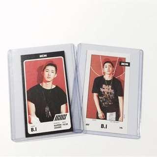 iKON B.I Half Album photocards #UNDER90