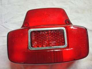 Vespa Super Tail Light Cover (Original)
