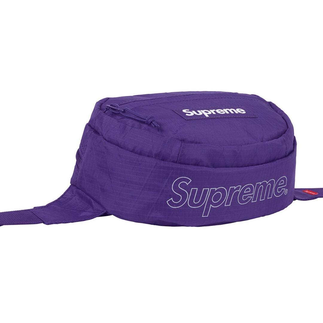 0c9569aeb25e IN STOCK  Supreme Waist Bag FW18 Purple