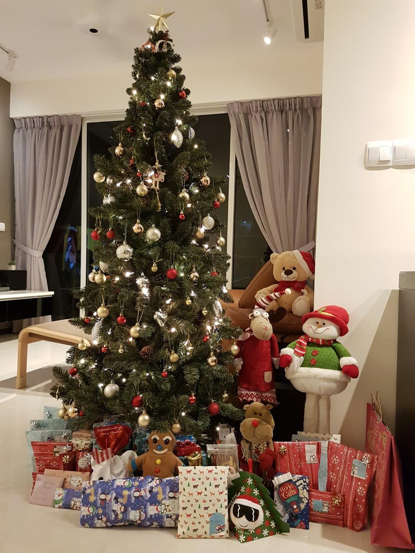Altaeco Slim Christmas Tree Artificial Colorado Pine Christmas Tree For Sale