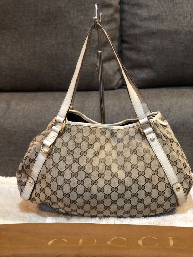 ad4ad6ed9899 Authentic Gucci Abbey Hobo Bag With Dustbag, Luxury, Bags & Wallets ...