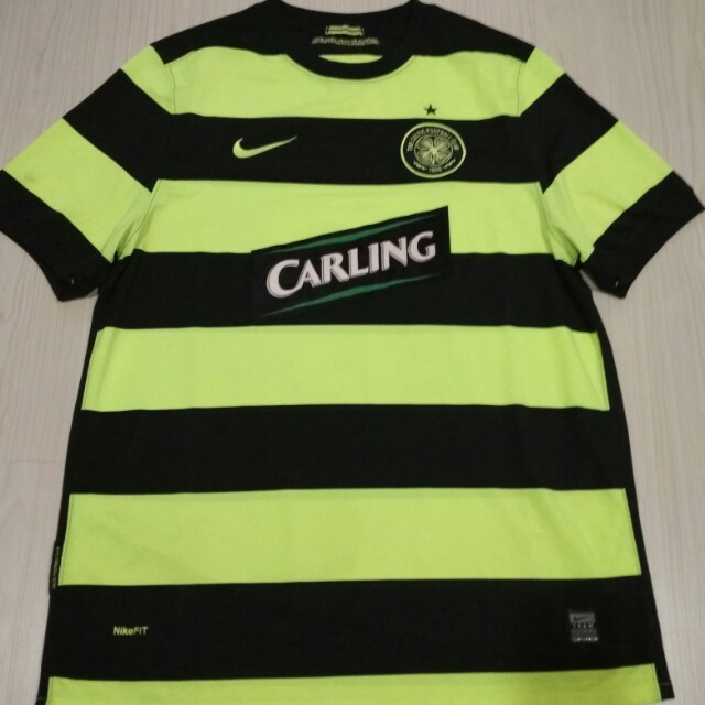 new product 48e04 43c23 Authentic Original Nike Scottish Champion CELTIC soccer jersey size L