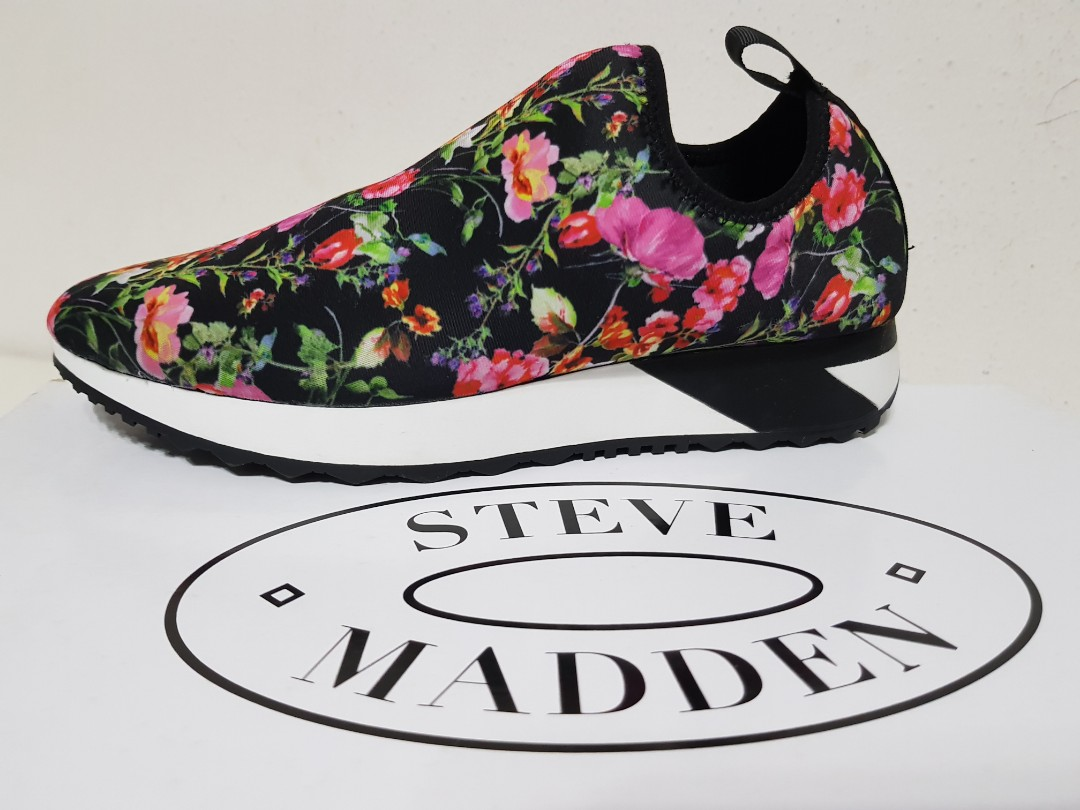 b981f539cd9 Authentic Steve Madden Floral Sneakers