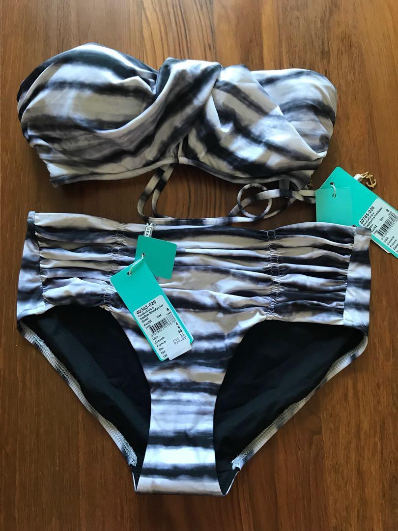 size UK 8 and UK 14 BNWT Black Seafolly womens bikini